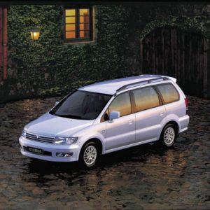 Комплект порогов MitsubishiSpace Wagon 2 (1998-2002)