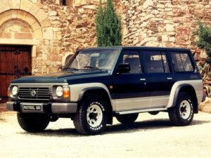 Комплект порогов Nissan Patrol GR I (1988-1997)