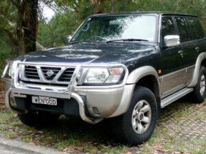 Комплект порогов Nissan Patrol (1997-2009)