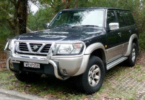 Комплект порогов Nissan Patrol (Y61) (1997–2009)