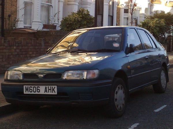 Комплект порогов Nissan Sunny N14 (1990-1995)