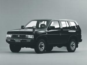 Пороги на Nissan Terrano