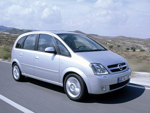Комплект порогов Opel Meriva А (2003-2010)