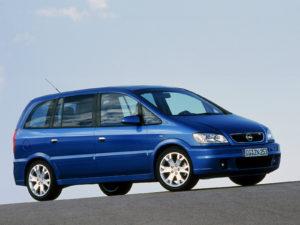 Комплект порогов Opel Zafira A (1999-2006)