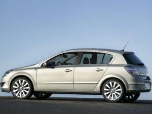 Комплект порогов Opel Astra