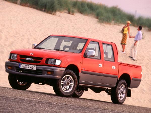 Комплект порогов Opel Campo (1991-2001)
