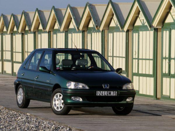 Комплект порогов Peugeot 106 (1996–2003)