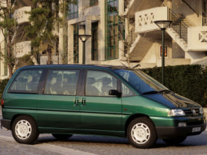 Комплект порогов Peugeot 806 (1994-2002)