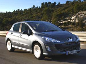 Комплект порогов Peugeot 308 (2007-2013)
