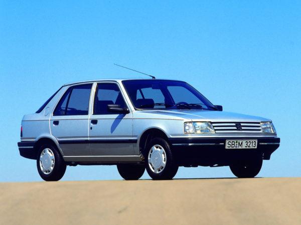 Комплект порогов Peugeot 309 (1985–1993)