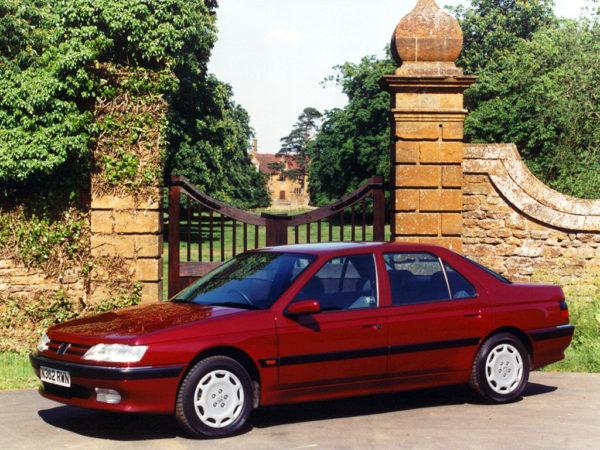 Комплект порогов Peugeot 605 (1989-2000)