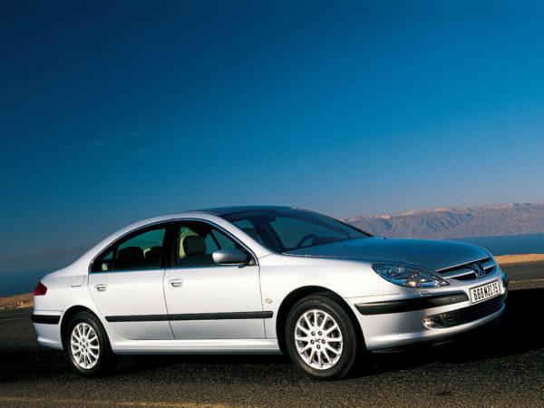 Комплект порогов Peugeot 607 (2000–2009)