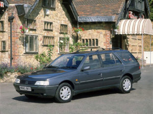 Комплект порогов Peugeot 405 (1987-1997)
