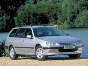Комплект порогов Peugeot 406 (1995-2004)