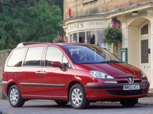 Комплект порогов Peugeot 807 (2002-)