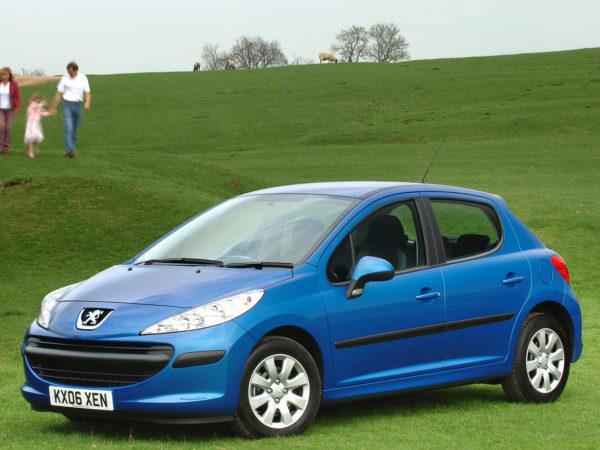 Комплект порогов Peugeot 207 (2006-2012)