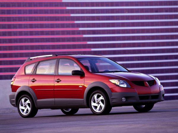 Комплект порогов Pontiac Vibe (2002-2010)