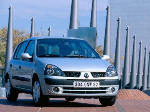 Комплект порогов Renault Clio 2 (1999–2005)