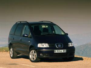 Комплект порогов Seat Alhambra (1995-2009)