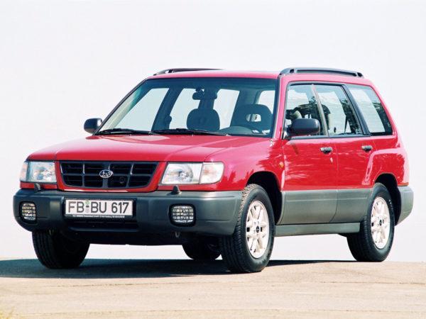 Комплект порогов Subaru Forester (1997–2002)