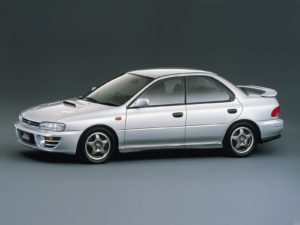 Комплект порогов Subaru Impreza 1 (1992–2001)
