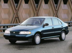 Комплект порогов Nissan Sunny B14 (1994-1998)
