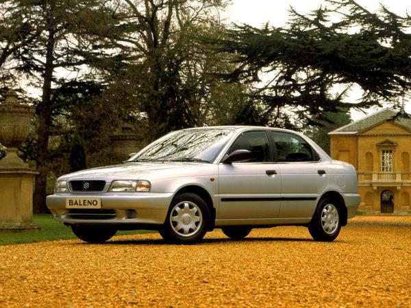 Комплект порогов Suzuki Baleno (1995-1998)