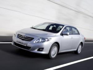 Комплект порогов Toyota Corolla
