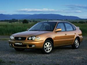 Комплект порогов Toyota Corolla E110 (1995-1999)