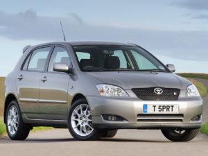 Комплект порогов Toyota Corolla E120 (2000-2005)