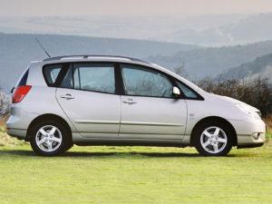 Комплект порогов Toyota Corolla Verso (2001-2003)