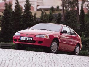 Комплект порогов Toyota Paseo (1996-1999)