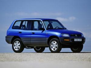 Комплект порогов Toyota Rav4 (1994 – 2000)