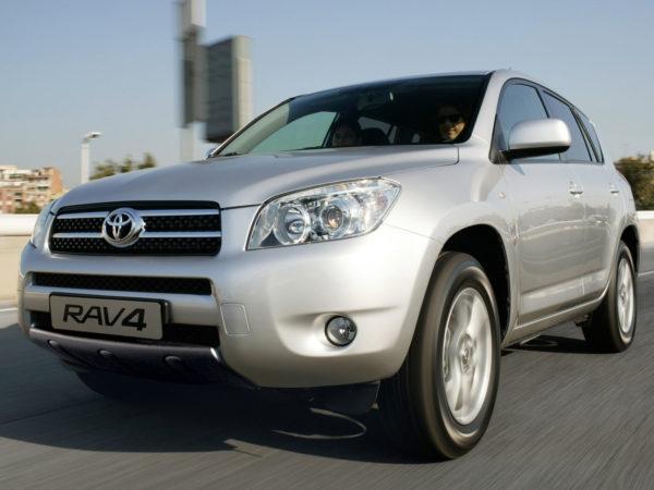 Комплект порогов Toyota Rav 4 (2005-2013)