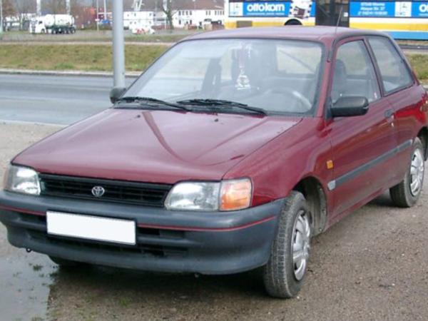 Комплект порогов Toyota Starlet 80 (1984-1996)
