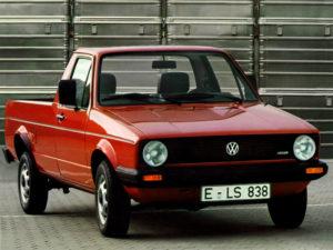 Комплект порогов VW Caddy 1 (1980-1994)