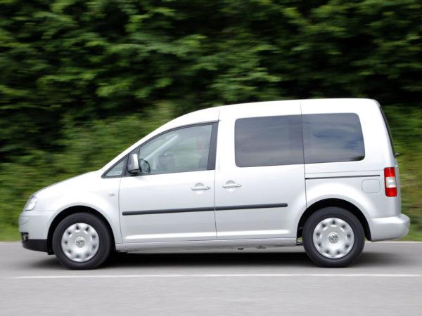 Комплект порогов Volkswagen Caddy 3 (2004-2010)