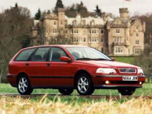 Комплект порогов Volvo S40 (1995-2004)