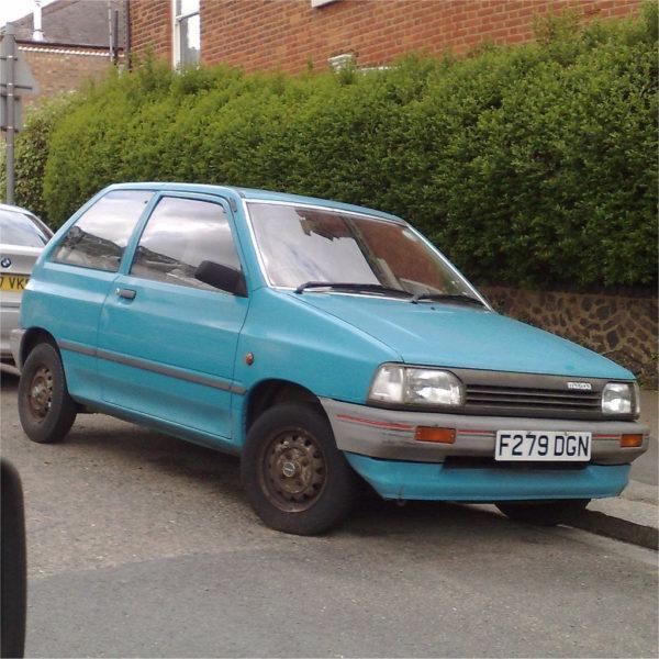 Комплект порогов Mazda 121 (JASM, JBSM) (1996 – 2000)