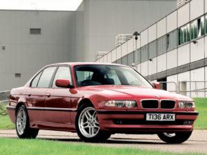 Комплект арок BMW E38 (1994-2002)