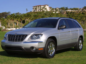 Комплект арок CHRYSLER Pacifica (2004- 2008)