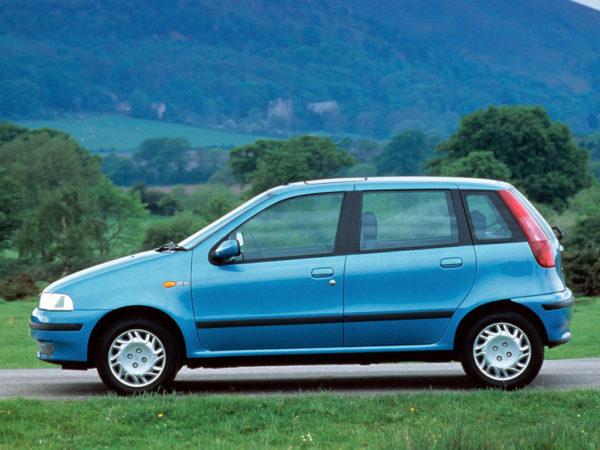 Комплект порогов Fiat Punto (1999-2005)