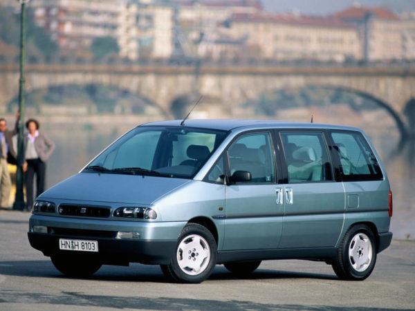 Комплект порогов Fiat ULYSSE (1994-2002)