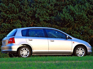 Комплект арок Honda Civic 7 (2005-2008)