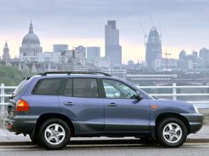 Комплект арок Hyundai Santa FE (2001 – 2005)