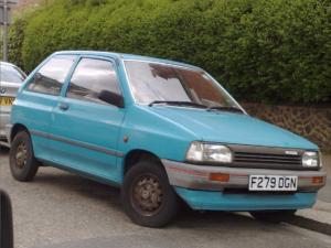 Комплект порогов Mazda 121 (1996-2000)