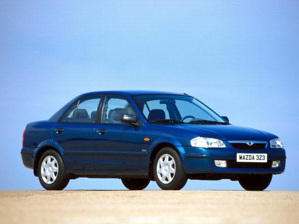 Комплект арок Mazda323 S (1998-2003)