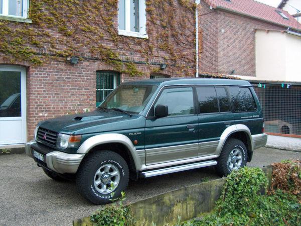 Комплект арок MitsubishiPajero II (1991 – 1999)