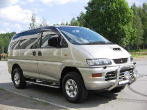 Комплект арок Mitsubishi Space Gear (PA0) (1994 – 2006)