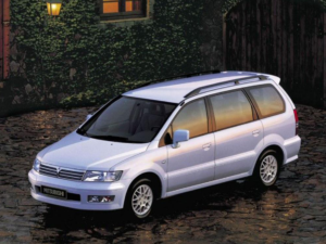 Комплект арок Mitsubishi Space Wagon 2 (1998-2002)